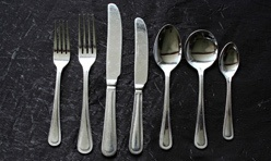 S/S Beaded Cutlery