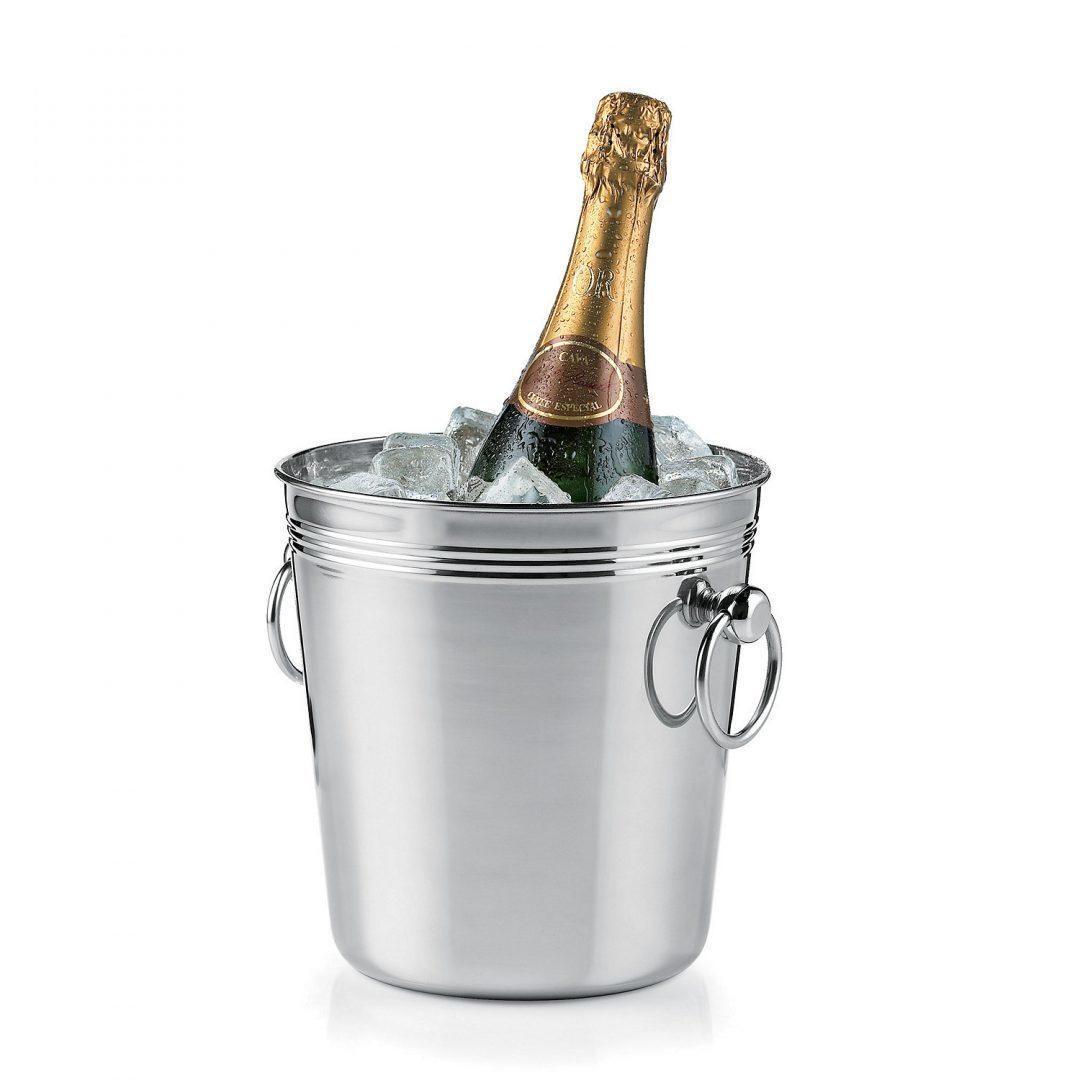 Silver Wine Cooler Bucket