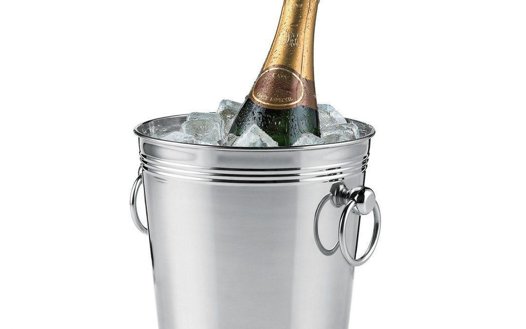 Silver Wine Cooler Bucket