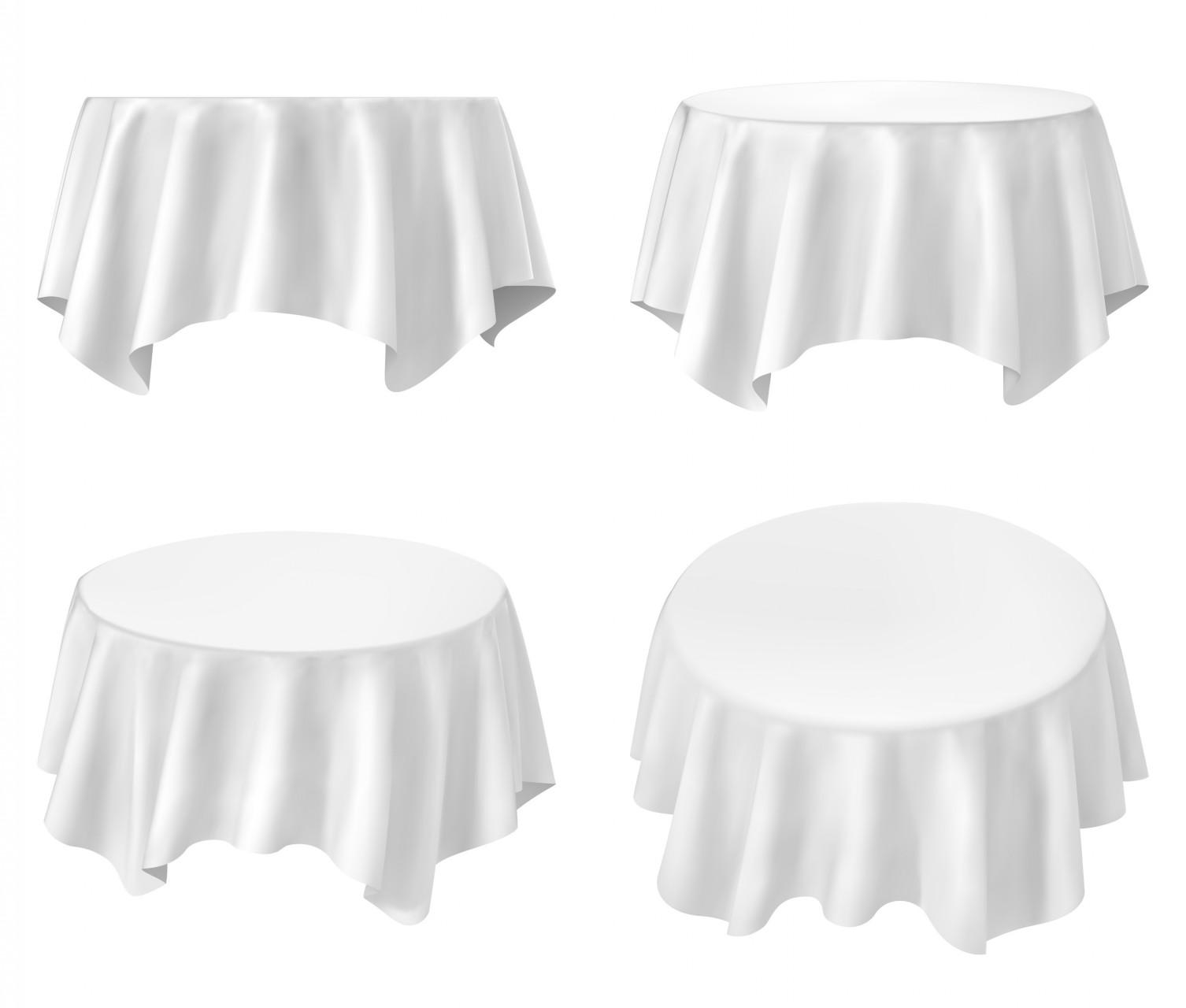 White round tablecloths cheap - White Round Tablecloth