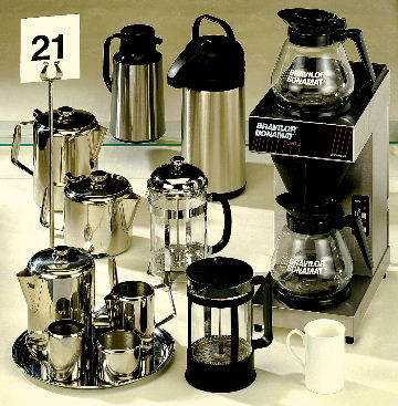 Tea & Coffee Equipment