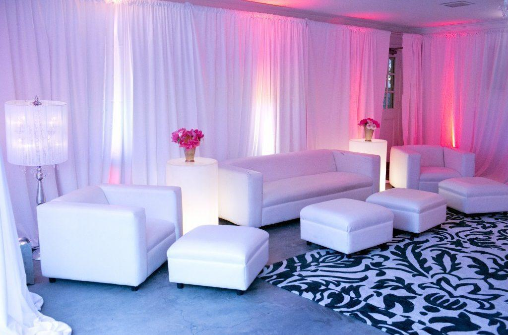 White Lounge Furniture Party