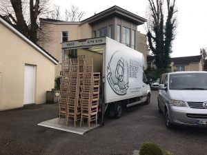 NEH chair hire truck