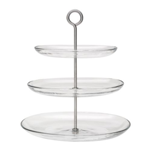 3-Tier-Oval-Glass-Afternoon Tea Stand