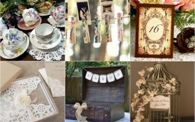 Creating a vintage-themed wedding