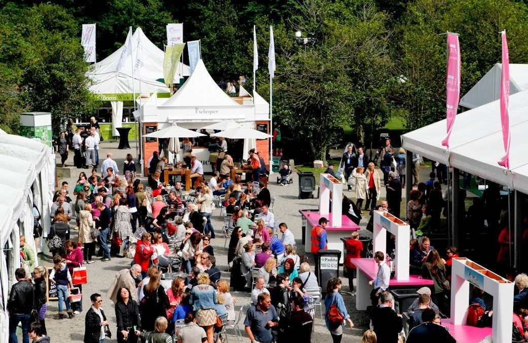 Food festival - Taste of Dublin 2017.