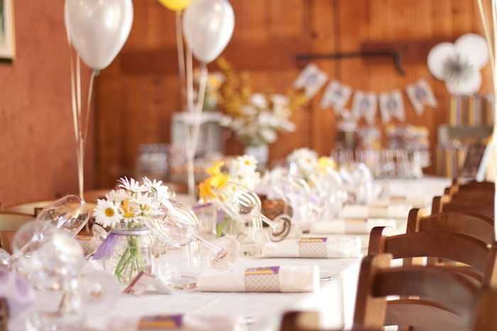 Helpful tips for planning a First Communion party